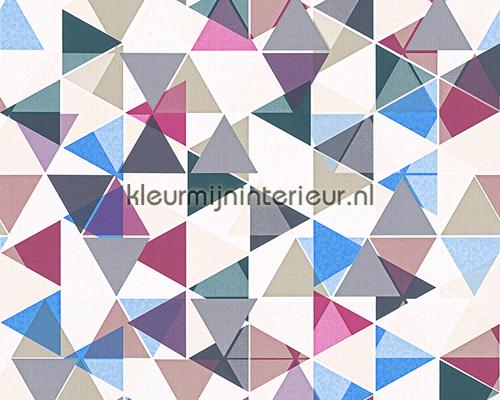 piramidas 94152 1 behang collected as creation. Black Bedroom Furniture Sets. Home Design Ideas