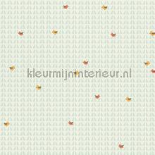 Vogels op abstracte achtergrond tapeten AS Creation alle-bilder
