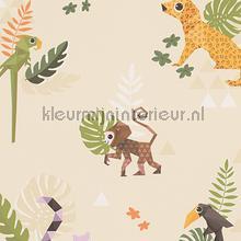Esprit jungle dieren origami creme tapeten AS Creation Esprit Kids 4 303032