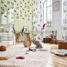 Esprit jungle dieren origami groen behang AS Creation Baby Peuter