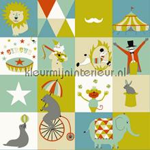 Dit is het circus papier peint Esta for Kids Everybody Bonjour 137-128-704