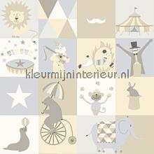 Dit is het circus papier peint Esta for Kids Everybody Bonjour 137-128-705