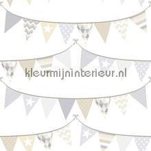 Het is feest papier peint Esta for Kids Everybody Bonjour 137-128-709