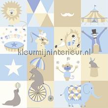 Dit is het circus papier peint Esta for Kids Everybody Bonjour 137-138-710