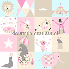 Dit is het circus papier peint Esta for Kids Everybody Bonjour 137-138-711