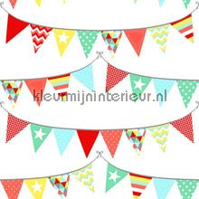 Het is feest papier peint Esta for Kids Everybody Bonjour 137-138-717