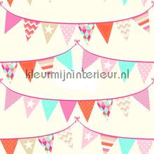 Het is feest papier peint Esta for Kids Everybody Bonjour 137-138-718