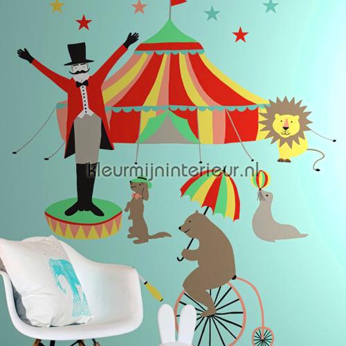 Het circus presenteert fotomurales 137-158 703 Everybody Bonjour Esta for Kids