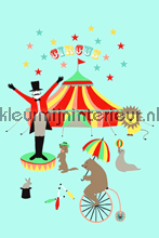 Het circus presenteert fototapet Esta for Kids Everybody Bonjour 137-158-703