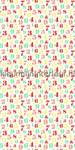 Letterwand fotomurales 137-158 714 Everybody Bonjour Esta for Kids