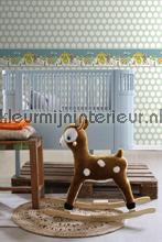 Circus rand behang Esta for Kids Baby Peuter