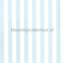 Strepen lichtblauw wit behang Noordwand Baby Peuter