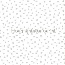 Stipjes grijs wit behang Noordwand Baby Peuter