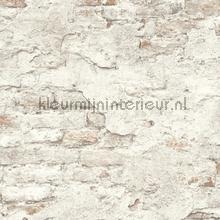 Bakstenen met oude stuclaag wallcovering Rasch Factory III 939316