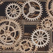 Tandwielen behang Rasch Factory III 940114
