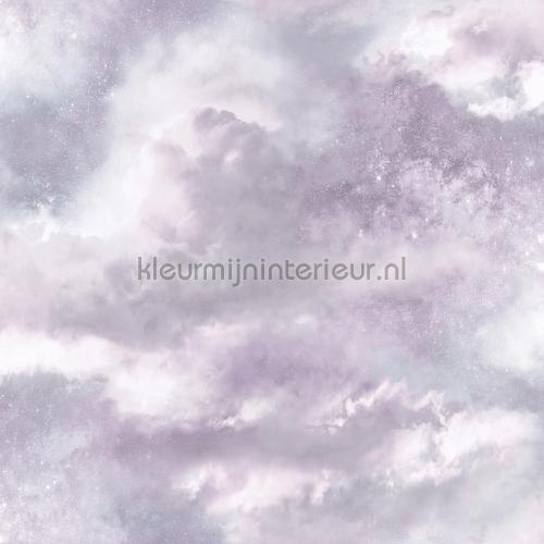 diamond galaxy lilac papel pintado 260008 niñas Arthouse