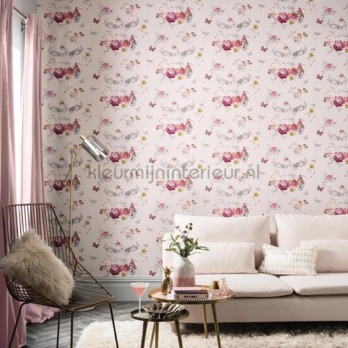 anastasia pink papel pintado 692302 niñas Arthouse