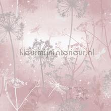 Damselfly blush tapet Arthouse Vintage Gamle