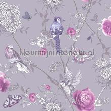paradise garden lilac tapet Arthouse Fantasia 692404