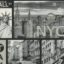 New York reliefbehang papier peint AS Creation Collected 300452