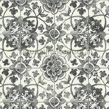 Azulejos tegels met relief behang AS Creation behang