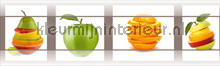 Fruits rand behang Kleurmijninterieur randen