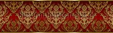 Ornaments rand rood goud behang Kleurmijninterieur randen