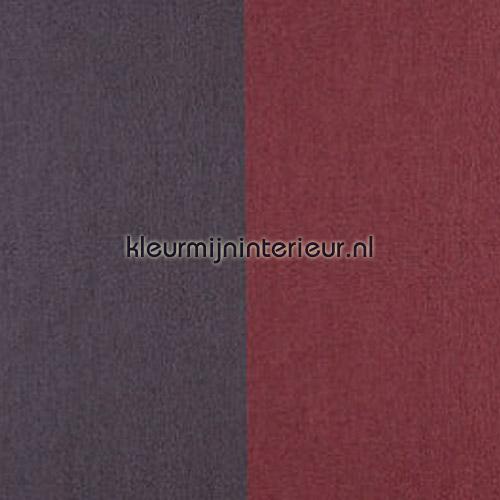 Grand Stripe Chocolat et Rouge Castille tapet 30000 Flamant Suite II Arte