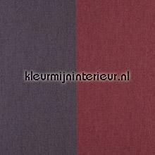 Grand Stripe Chocolat et Rouge Castille papel pintado Arte Flamant Suite II 30000