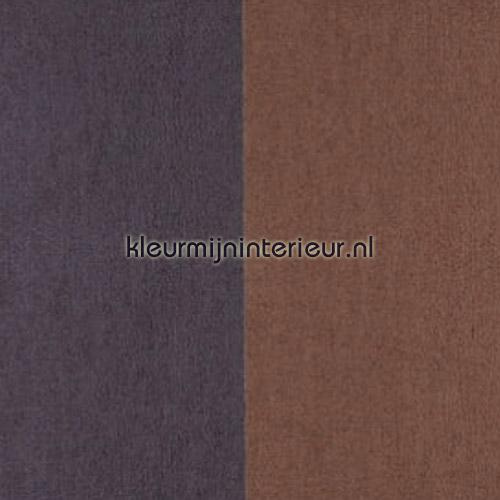 Grand Stripe Havane et Chocolat tapet 30001 Flamant Suite II Arte
