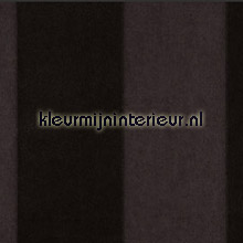 Stripe Velvet and Lin Noire de Lune behang Arte Flamant Suite III 18102