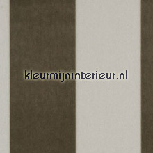 Stripe Velvet and Lin Bone behang Arte Flamant Suite III 18105