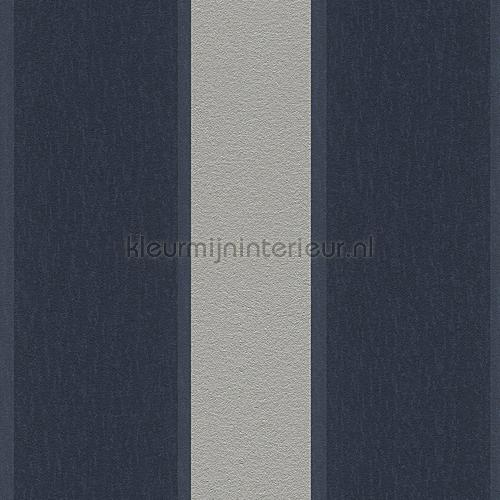 Royal fleece streep  zilver blauw tapeten 96186-5 sonderangebote tapeten AS Creation