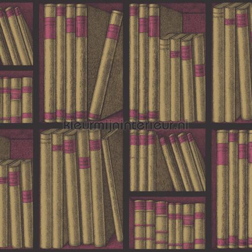 Ex libris behang 114-15031 fantasie Cole and Son