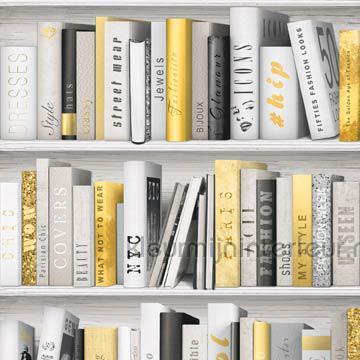 Kast Met Gouden Boeken