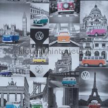 Volkswagen city trip carta da parati Dutch Wallcoverings Wallpaper creations
