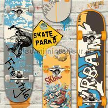 Skateboards behang Dutch Wallcoverings tieners