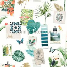 Botanical collection behang Dutch Wallcoverings tieners