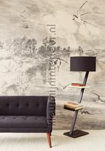 Geonature Hirundo Cream papier murales Eijffinger Geonature 366101