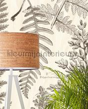 Geonature Herbarium Black fotobehang Eijffinger Geonature 366105