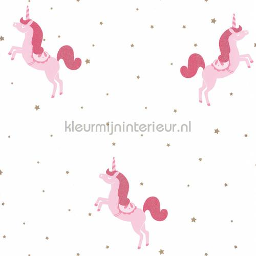 princess unicorns papel de parede gpr100794101 raparigas Caselio