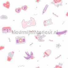 pins me papier peint Caselio Girl Power gpr100835001