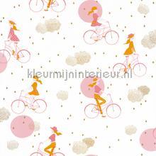 lucy in the sky papier peint Caselio Girl Power gpr100844928