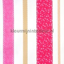 Rayure Patchwork tapet Caselio Girls Only GLN6205-40-22
