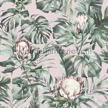 nia Pink wallcovering Dutch First Class Glasshouse 90220