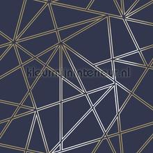 omega Navy wallcovering Dutch First Class Glasshouse 90272