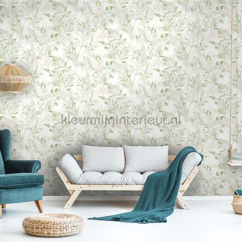 cedar Green Silver tapet 90291 romantisk moderne Dutch First Class
