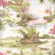 Horizon Pink Multi papel pintado Dutch First Class Wallpaper creations