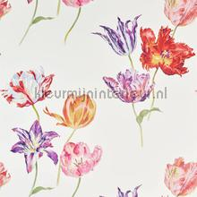 Tulipomania wallcovering Sanderson wallpaper by meter