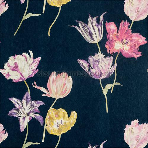 tulipomania tapet 216667 Cottage Sanderson
